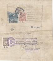 Argentina. 1960. Marche Municipali Su Certificato - Argentina