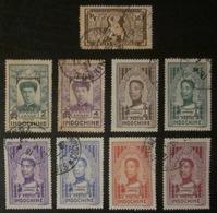 Indochine - YT 167 172 173 182 183 184 187 188 189 - Indochina (1889-1945)