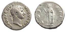[H] +++ AR Denarius - HADRIAN -- RIC 181 -- COS IIII - Spes Reverse +++ - 3. Die Antoninische Dynastie (96 / 192)