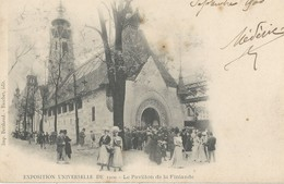 Exposition   Universelle  De 1900   Le Pavillon De La Finlande - Mostre