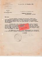 Courrier Mairie Plancher-Bas 70 / à Bodoignet Le Mont / Pose Panneaux électoraux / Législatives 1956 - France