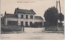 CPA Boussac - La Gare (avec Animation) - Boussac