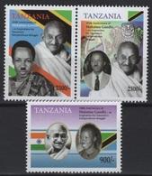 Tanzania (2019) - Set -  /  Gandhi Anniversary - Mahatma Gandhi