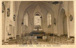661A.   GARDEFORT. Intérieur De L'Eglise Saint Martin - France