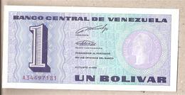 Venezuela - Banconota Non Circolata FdS Da 1 Bolivar P-68 - 1989 #18 - Venezuela