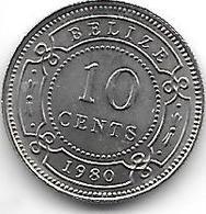 *belize 10 Cents 1980 Km 35 Bu - Belize