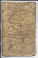 LIVRET MILITAIRE - 11e REGIMENT DE CHASSEURS - Année 1832 - Régiments
