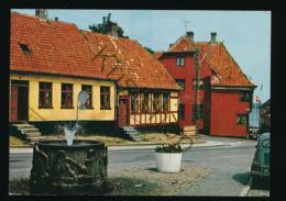 Middelfart - Fisketorvet Med Marsvinsbrønden [AA46-4.071 - Denemarken