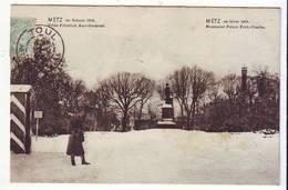 Cpa Metz Hiver 1905 - Metz