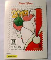 ITALIA 2019, CHRISTMAS, NOEL, NATALE,   OFFICIAL CARD FDC - Santa Claus