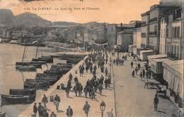CPA La Ciotat - Le Quai Du Port Et L' Escalet - La Ciotat