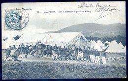 Cpa Du 88  Gerardmer Les Chasseurs à Pied Au Camp   DEC19-12 - Gerardmer