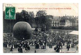 Autun Le Gonflement Du Ballon - Autun