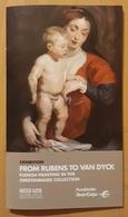 FROM RUBENS TO VAN DYCK - MUSEO GOYA. - Folletos Turísticos