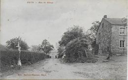 HEYD ..-- Rue De BIHAY . Vers PETIT - BARVAUX ( Mr DUMOULIN CORNET ) . Voir Verso - Durbuy