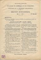 88 - Vosges - Val D 'Ajol - Brevet Invention - Motofaucheuse - Documents Historiques
