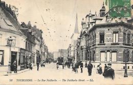 59 NORD TOURCOING LA RUE FAIDHERBE TRAMWAY - Tourcoing