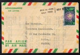 CAMEROUN - VICTORIA /1972 ENTIER POSTAL - AEROGRAMME - POUR LA FRANCE  (ref LE3852) - Kameroen (1960-...)