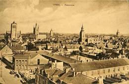 CPA - Belgique - Ieper - Ypres - Panorama - Ieper