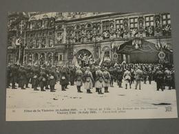 FETES DE LA VICTOIRE. VICTORY FETE. 14/07/1919. EDITION ND N°36. A L'HOTEL DE VILLE  LA REMISE DES DECORATIONS. - Otros