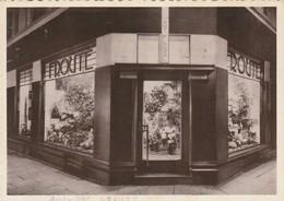 Bruxelles , Frouté , Magasin D' Art Floral , 27 Avenue Louise En 1937 - Old Professions