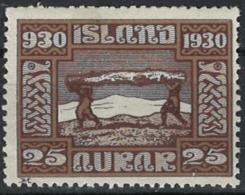 Iceland Island 1930. Mi 131, MNH - Unused Stamps