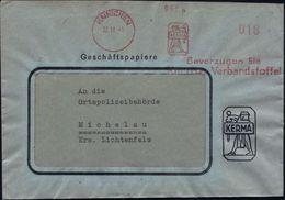 GRIECHISCHE & RÖMISCHE MYTHOLOGIE : HAINICHEN/ KERMA.../ Kerma Verbandsstoffe 1945 (22.11.) Total Aptierter AFS Ohne Wer - Mythologie
