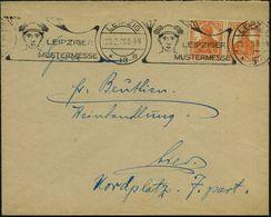 GRIECHISCHE & RÖMISCHE MYTHOLOGIE : LEIPZIG/ *13a/ LEIPZIGER/ MUSTERMESSE 1920 (29.2.) Seltener BdMWSt = Merkurkopf (bre - Mythologie