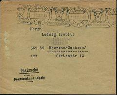 GRIECHISCHE & RÖMISCHE MYTHOLOGIE : LEIPZIG/ *13a/ LEIPZIGER/ MUSTERMESSE 1920 (11.3.) Seltener U. Gesuchter BdMWSt = Me - Mythologie