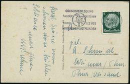 GRIECHISCHE & RÖMISCHE MYTHOLOGIE : MÜNCHEN/ *2a/ GRUNDSTEINLEGUNG/ TAG DER DT./ KUNST 15.X.1933/ NEUER GLASPALAST 1933  - Mythologie