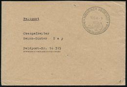 FRÜH- & VORGESCHICHTE / PRÄHISTORIE : MÄHRISCH NEUSTADT/ Bedeutende Vorgeschichtsfunde 1944 (15.6.) Seltener HWSt = 4 Pr - Préhistoire
