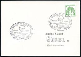 FRÜH- & VORGESCHICHTE / PRÄHISTORIE : 7141 STEINHEIM AN DER MURR 1/ 50 JAHR FEIER/ HOMO STEINHEIMENSIS/ URMENSCH MUSEUM  - Préhistoire