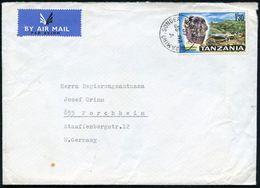 """FRÜH- & VORGESCHICHTE / PRÄHISTORIE : TANSANIA 1966 1 Sh./30 , EF = Schädel Des """"Zijanthropus"""" = Vor-Mensch Vor 1 3/4 Mi - Préhistoire"""
