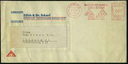 ALT-ÄGYPTEN / ASSUR / BABYLON : LEIPZIG N21/ Deutsche Druckfarbenfabrik/ Zülch & Dr.Scherl.. 1941 (25.6.) AFS = Sphinx U - Egyptologie