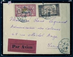 1928 MARRUECOS FRANCÉS , RABAT - PARIS , CORREO AÉREO - Maroc (1891-1956)