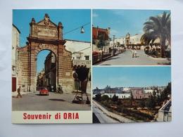 Q906  CARTOLINA SALUTI DA ORIA BRINDISI    VEDUTINE  NON  VIAGGIATA - Brindisi