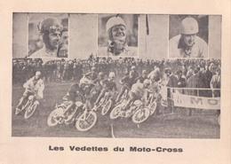 Les Vedettes Du Moto-Cross ( Brommer Motor Moto ) - Motociclismo