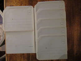 Lot De 6 Enveloppes Non Ecrites FM - Documents