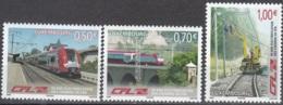 Luxembourg 2006 Michel 1704 - 1706 Neuf ** Cote (2008) 4.40 Euro 50 Ans électrification Des Chemins De Fer - Ongebruikt
