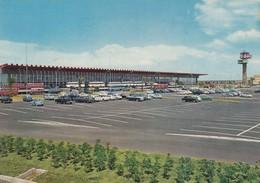 AEROPORTO-AEROPORT-AIRPORT-FLUGHAFEN-FIUMICINO-ROMA-ITALIA-VERA FOTOGRAFIA VIAGGIATA IL 24-4-1966 - Aérodromes