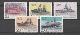 URSS   1970 Xx  Mi 3781-85  -  Postfrisch   -   Vedi Foto ! - 1923-1991 USSR