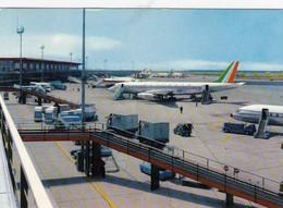 AEROPORTO-AEROPORT-AIRPORT-FLUGHAFEN-FIUMICINO-ROMA-ITALIA-VERA FOTOGRAFIA VIAGGIATA IL 18-9-1971 - Aérodromes