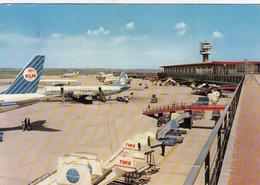 AEROPORTO-AEROPORT-AIRPORT-FLUGHAFEN-FIUMICINO-ROMA-ITALIA-VERA FOTOGRAFIA VIAGGIATA - Aérodromes