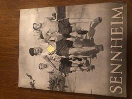 Brochure Original Sennheim Cernay 1942 SS Ausbildungslager - Revues & Journaux