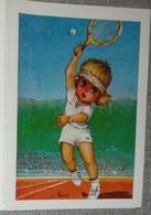 Petit Calendrier Poche  Agenda 1982 Illustration Michel Thomas Poulbot Tennis - 24 Pages - Guéret - Kalenders