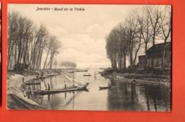 KAO-27  Yverdon Bord De La Thièle, Avec Barques, Petite Animation. Edition Studer Circulé Sous Enveloppe - VD Vaud
