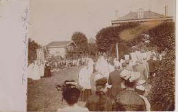 57 - METZ - QUEULEU - CARTE PHOTO - 1ère COMMUNION 07.1906 - Metz