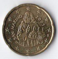 SAN MARINO 2005 20 Cts - San Marino