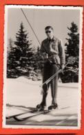 KAO-40  Mode Skieur Dans Les Années 1940-1950. Photo à Lenzerheide, Grisons Suisse.Schifahrer, Non Circulé - Moda
