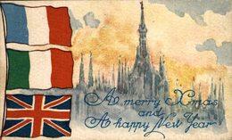 PASSED BY CENSOR Omaggio Delle Officine Ricordi Alle Truppe Alleate - War 1914-18